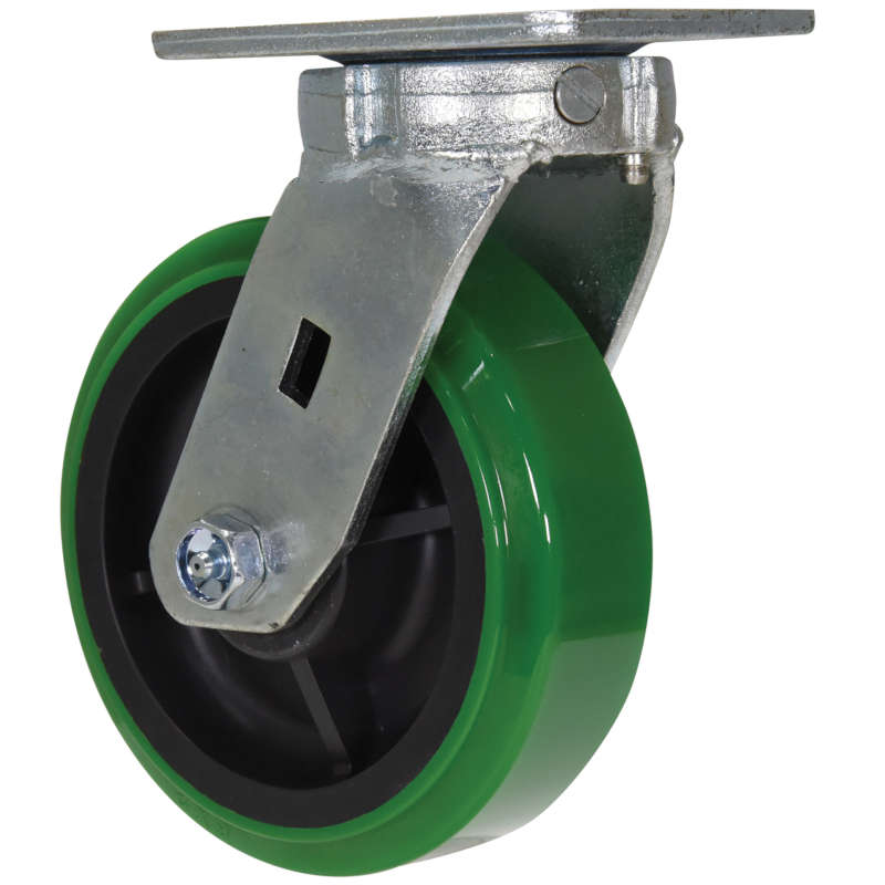Vestil Medium-Heavy Duty High-Tech Non-Marking Polyurethane Casters