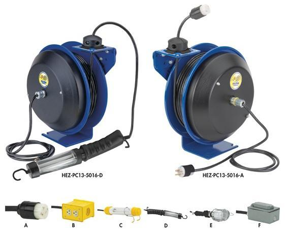 Coxreels EZ-Coil Safety Series Electric Cord Reels