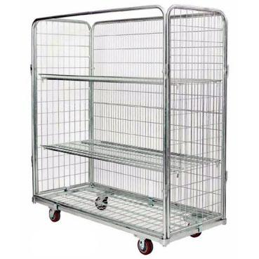 NRC2 Open Front Cart with optional shelves