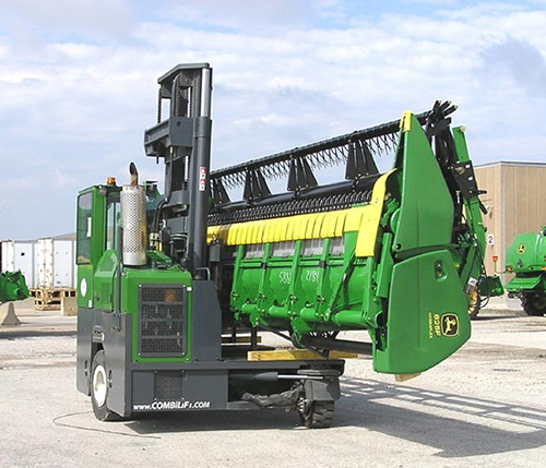 Combilift Moving Agricultural Equipment From Manufacturing