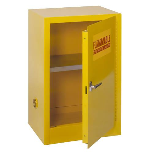 Sandusky Compact Flammable Safety Cabinet with Single Door - Manual Close - Model No. SC12F