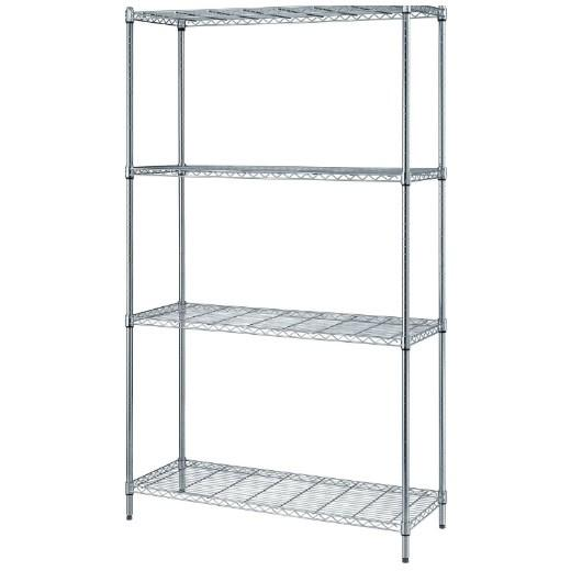 Quantum Chrome One Box Shelving