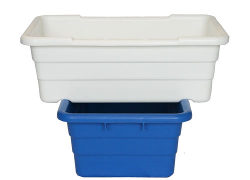 Tubs Shown Cross-Stacked. Size pictured may differ from model on product page.