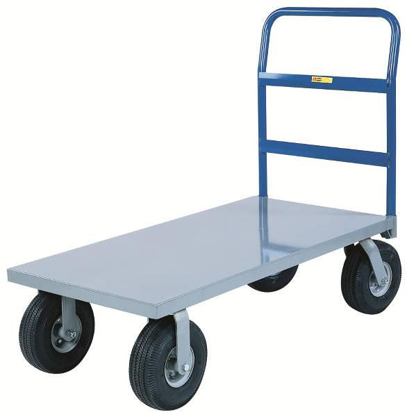 Little Giant Cushion-Load Platform Trucks with Pneumatic Tires Model No. NBB-2448-10P