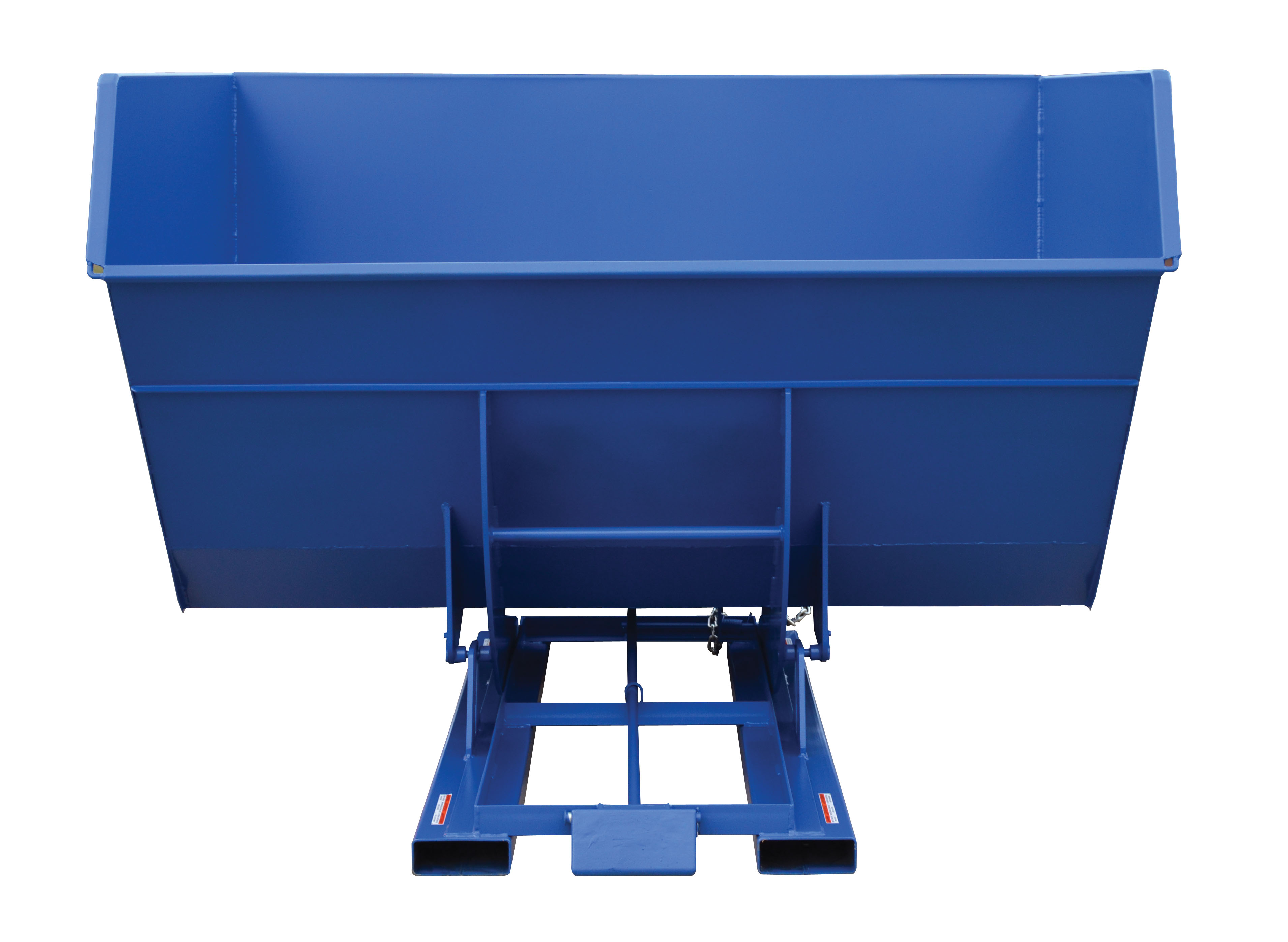 Vestil 5 Yard Self-Dumping  Steel Hopper With Bumper Release, Model D-500-HD