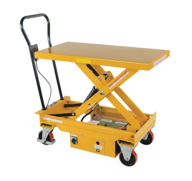 Vestil DC Powered Hydraulic Elevating Cart Model No. CART-1000-DC
