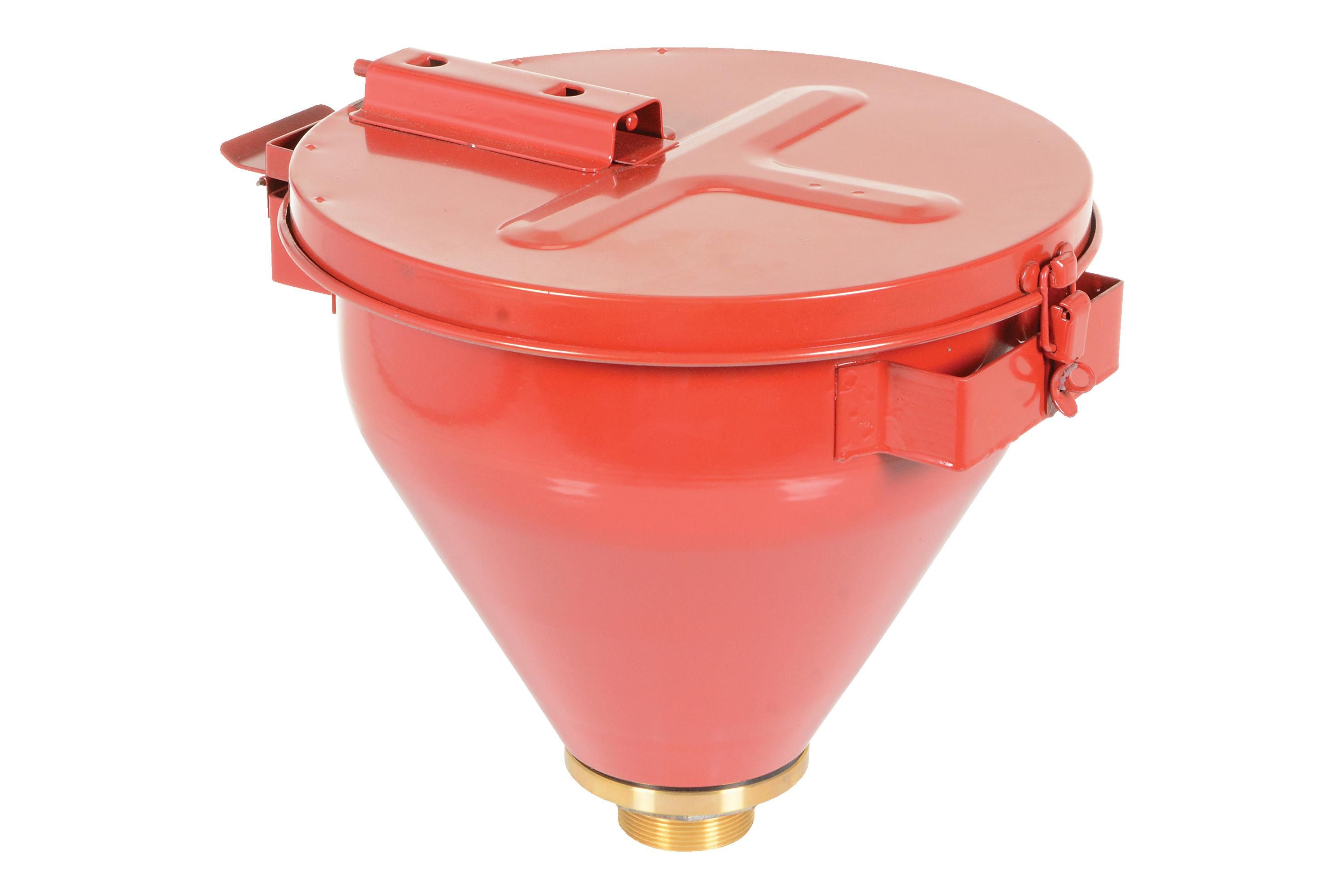 Vestil Self-Closing Steel Drum Funnel Model No. DF-S