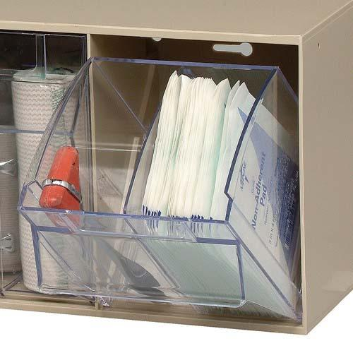 Quantum DIV304 Clear Tip Out Bin Divider