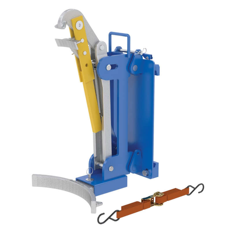 Vestil Carriage-Mounted Drum Lifter
