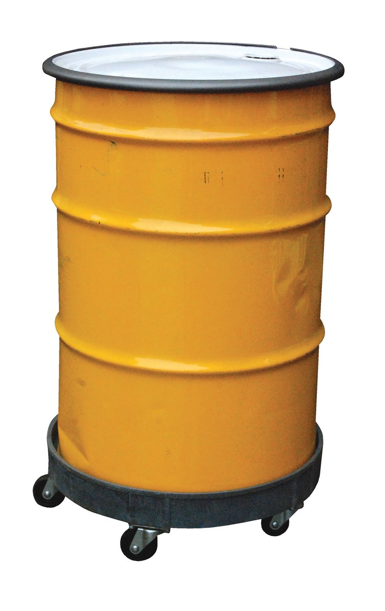 Vestil DRUM-PDD Multi-Level Plastic Drum Dolly