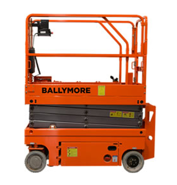 Ballymore Drivable Scissor Lifts