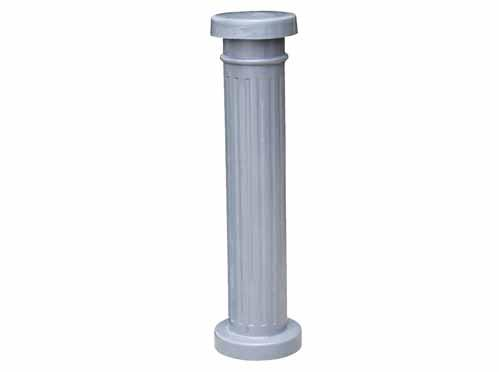 Vestil Decorative Aluminum Bollard