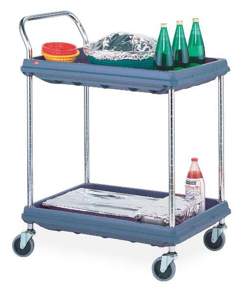 Metro Deep Ledge Utility Carts