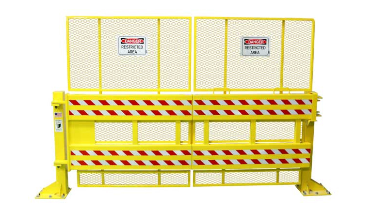 Defender Gate 20 with Safety Guard 10 Feet Gate Size SG