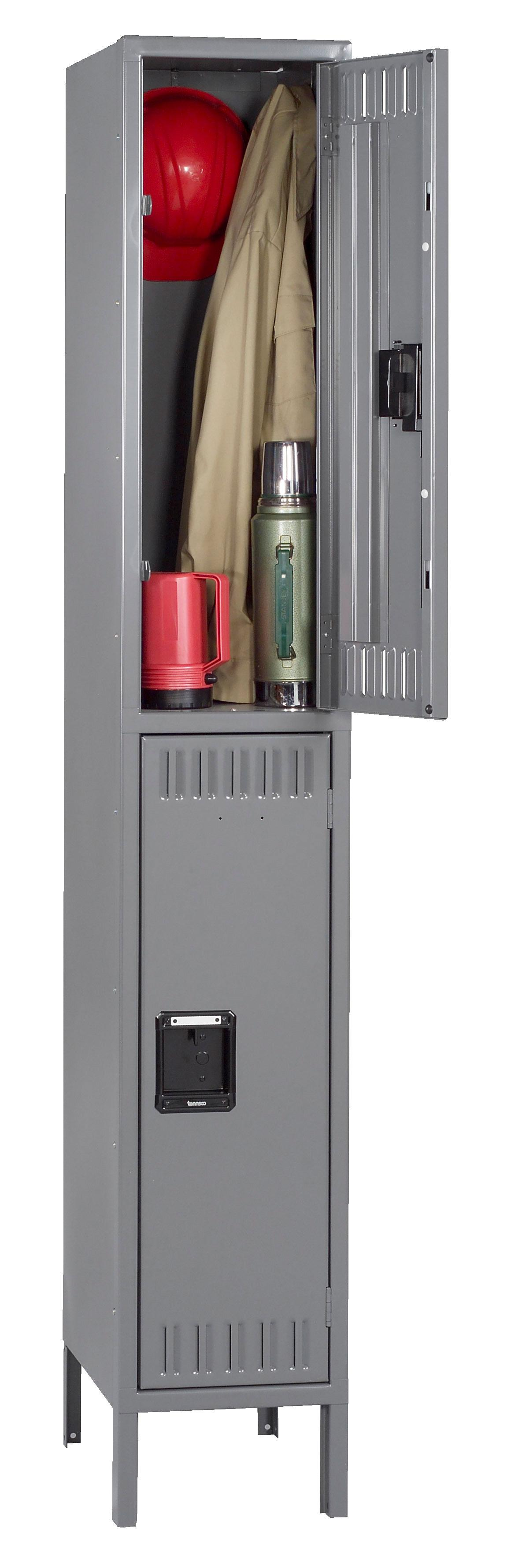 DTK-121530-1 Double Tier Lockers With Legs