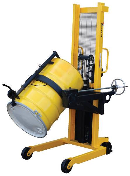 Vestil Portable Drum Lifter Rotator Transporter Model No. DRUM-LRT
