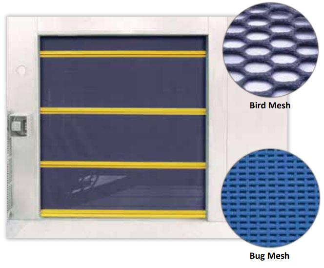 DuraShield Bug and Bird Mesh Screen Doors
