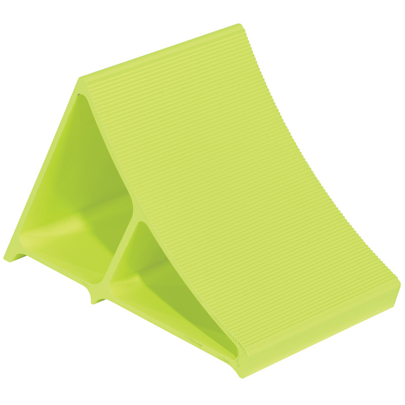 Vestil Fluorescent Yellow Wheel Chocks