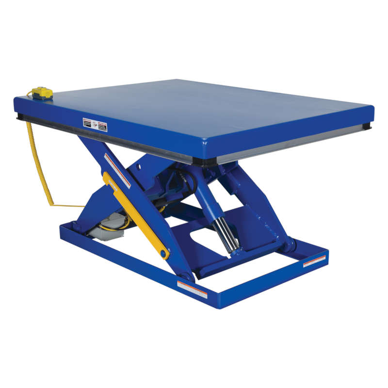 Vestil Electric Hydraulic Scissor Lift Tables - Partially Stainless Steel