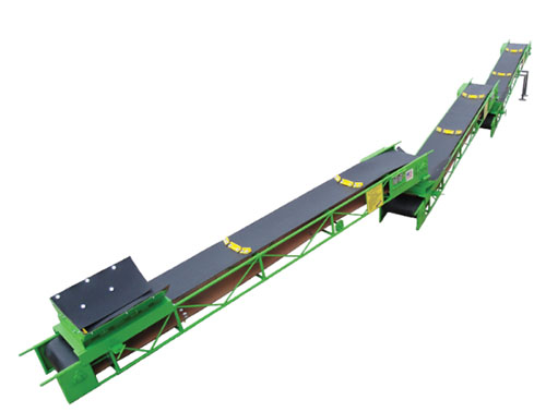 E-ZLIFT Troughing Conveyor