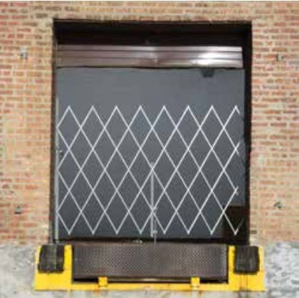 Medium Duty Single Wide Folding Security Gates 5 to 6 Feet Width