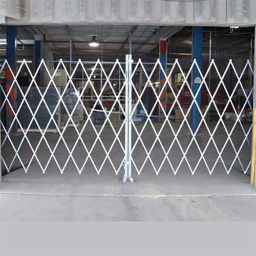 Medium Duty Double Wide Folding Security Gates - 14 to 16 Feet Widths