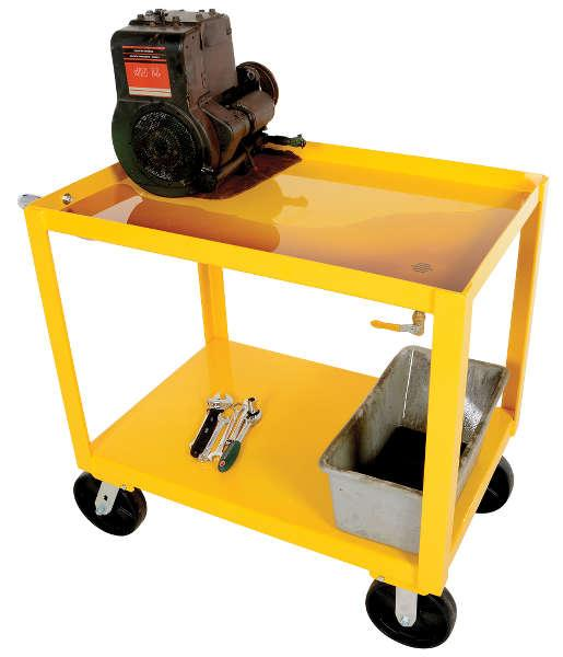 Vestil Ergo-Handle Cart with Drain