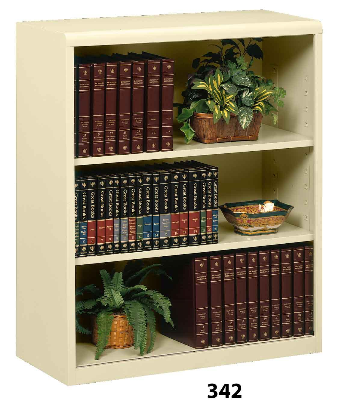 Tennsco 342 Executive Bookcases steel bookcase office