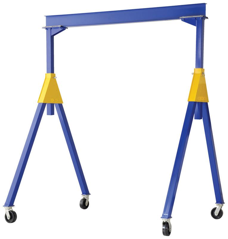 Vestil Fixed Height Steel Gantry Cranes - Knockdown - Series FHSN