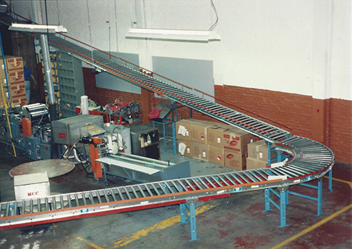 Custom Floor to Floor Conveyors