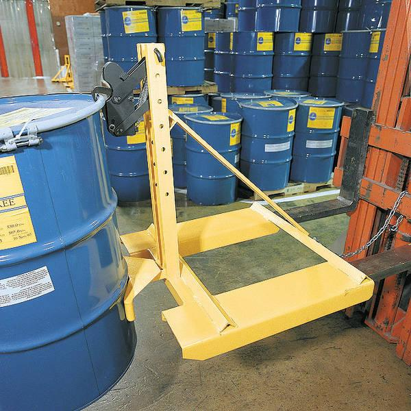 Vestil Fork Mounted Drum Lifter Model No. FMDL-850