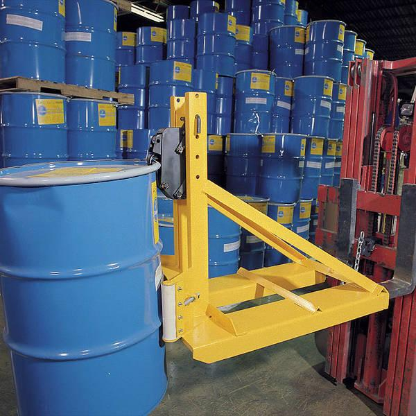 Vestil Fork Mounted Drum Lifter Model No. FMDL-1500