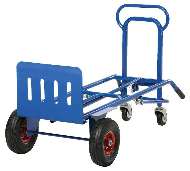 Vestil Four Wheel Multi-Position Steel Hand Truck Model No. TWC-400