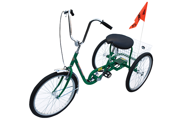 Green Industrial Bicycle