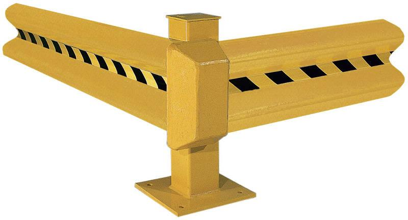 Vestil Guard Rail Systems Series GR-PC-YEL