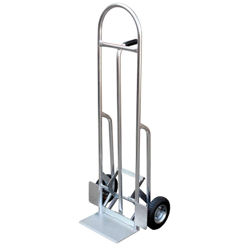 Vestil High Back Aluminum Hand Truck with Push Out Model No. HBST-500