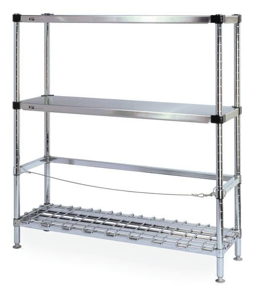 Metro HD Super Beer Keg Handling Rack Model No. 3KR366FC