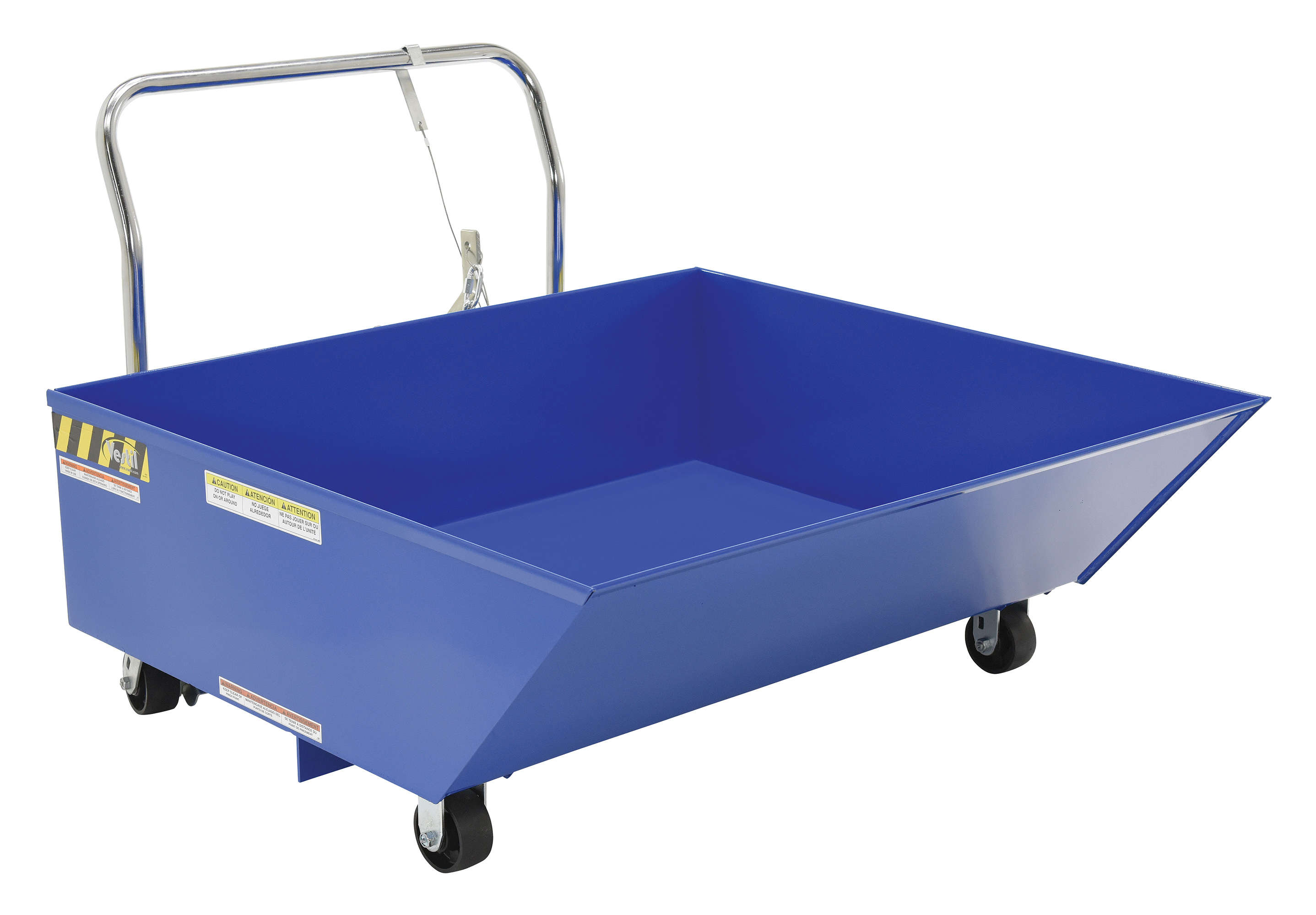 Vestil Low Profile Parts Hopper HOP-LP