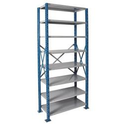 Hallowell - H-Post Open Shelving Units - 8 Shelf Starter