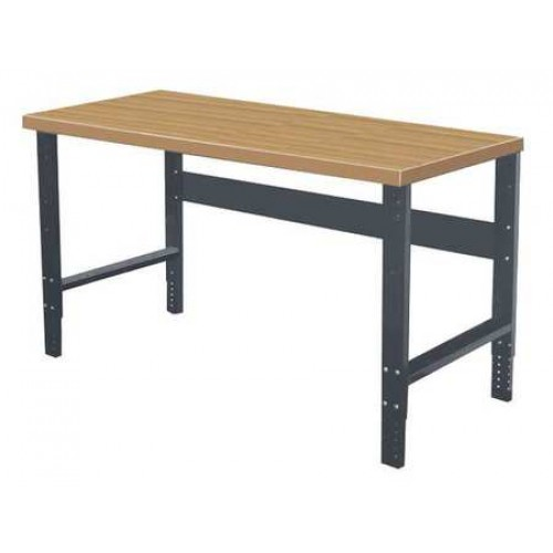 Hallowell Adjustable Leg Workbench with Shop Top