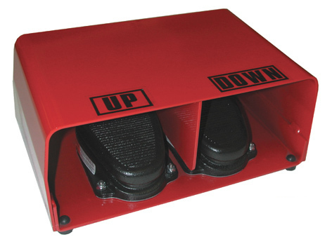 Covered Foot Pedal