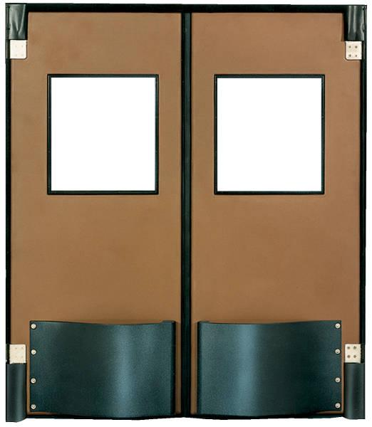 Vestil Heavy Duty Swinging Traffic Door