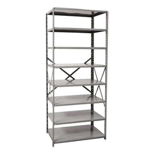 Hallowell Hi-Tech Free Standing Shelving - 8 Shelf