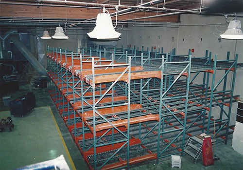 Custom Pallet Flow Racks