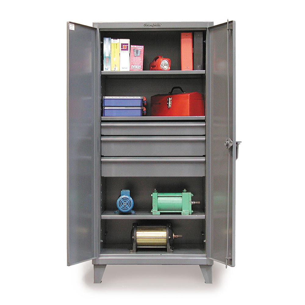 Industrial Cabinets with Drawers