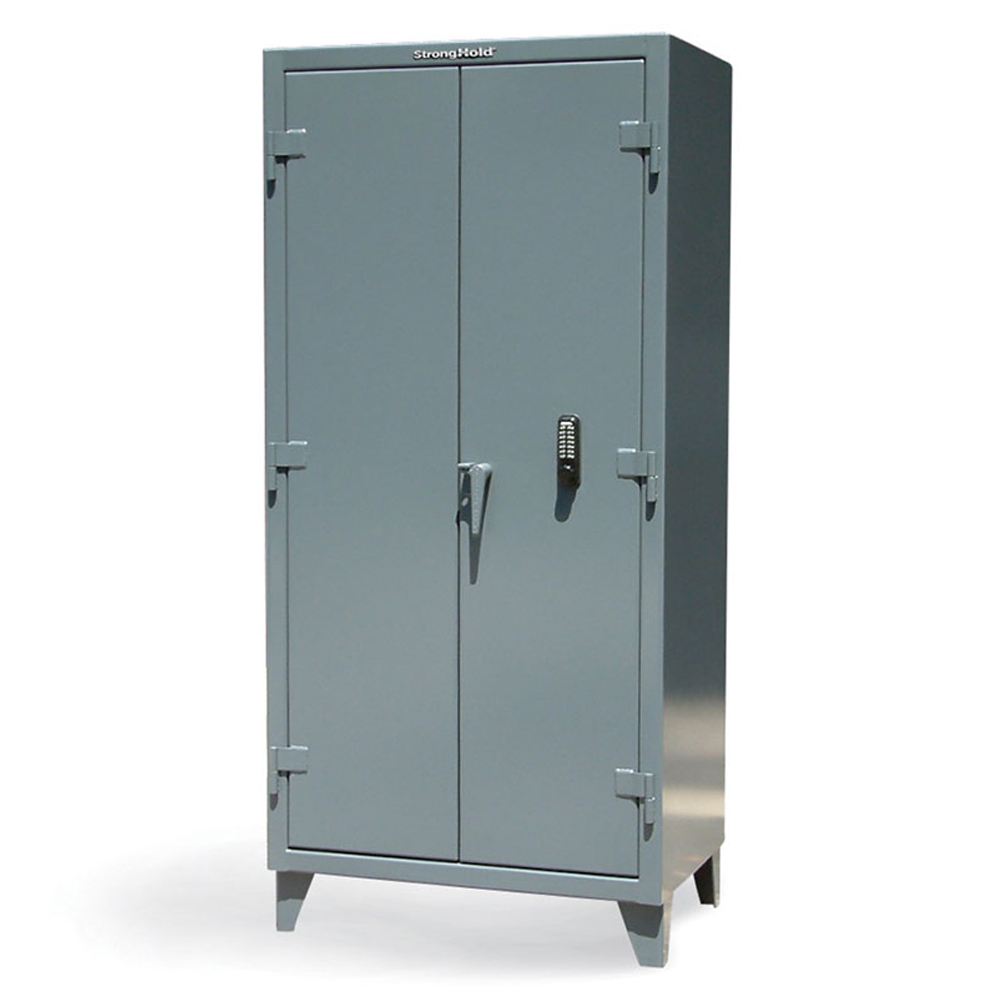 Industrial Cabinet with Keyboard Strong Hold