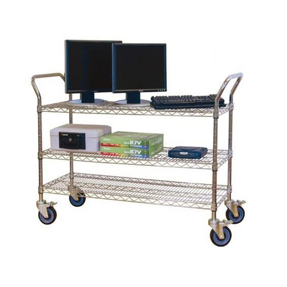 Jaken Chrome Wire Service Carts