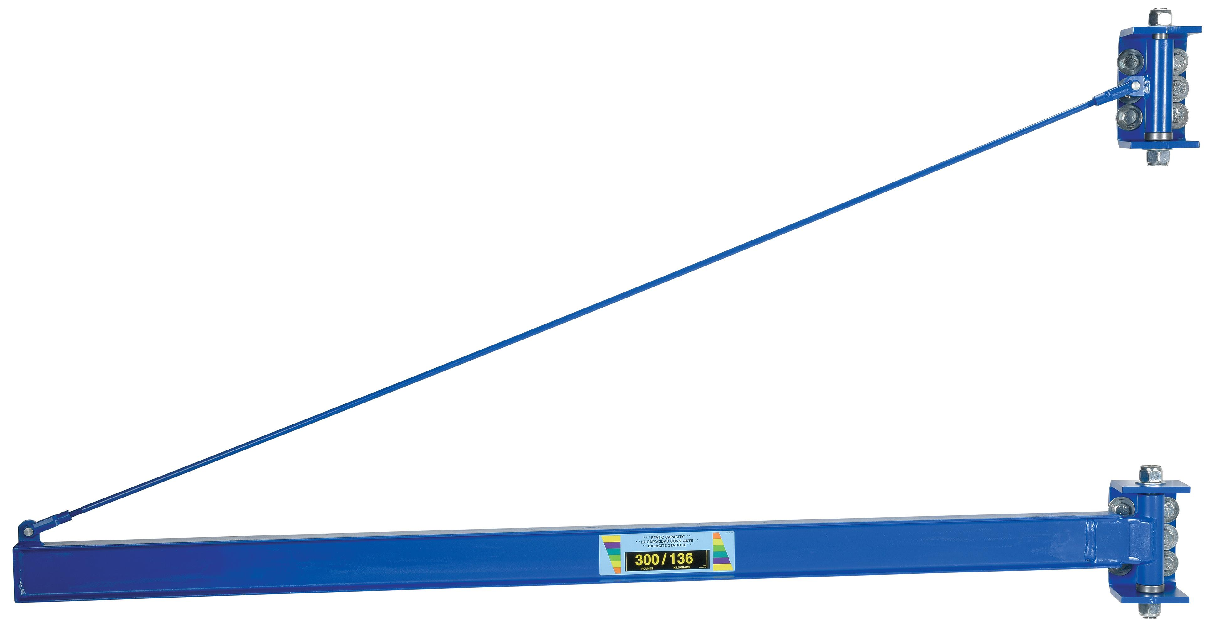 Vestil Tie Rod Jib for High Ceilings Model No. JIB-HC-3