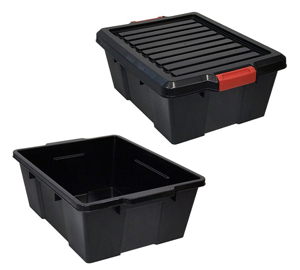 Quantum Black Latch Containers