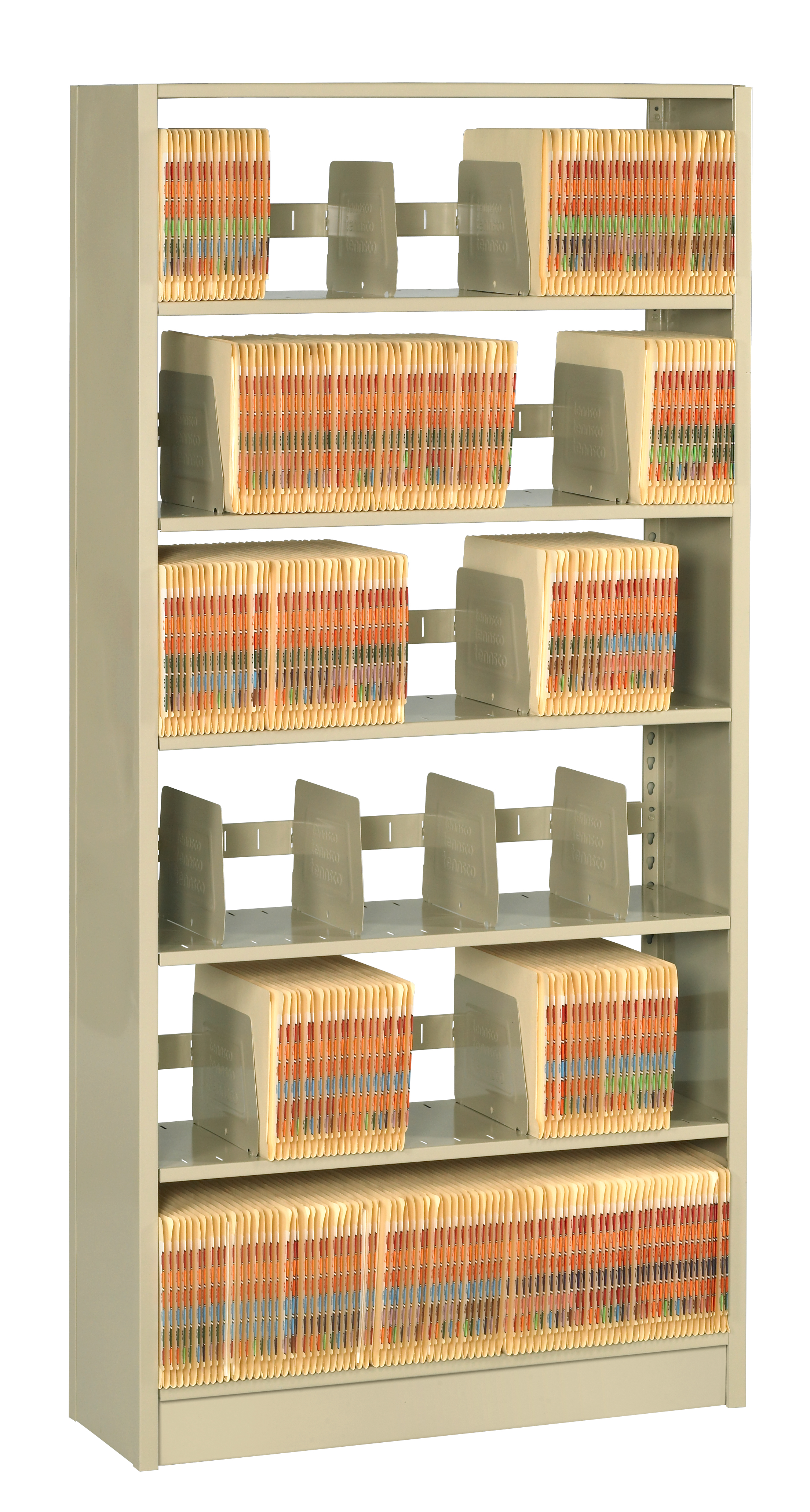 L&T Boltless Shelving 76 Inch High Starter Unit Single Entry